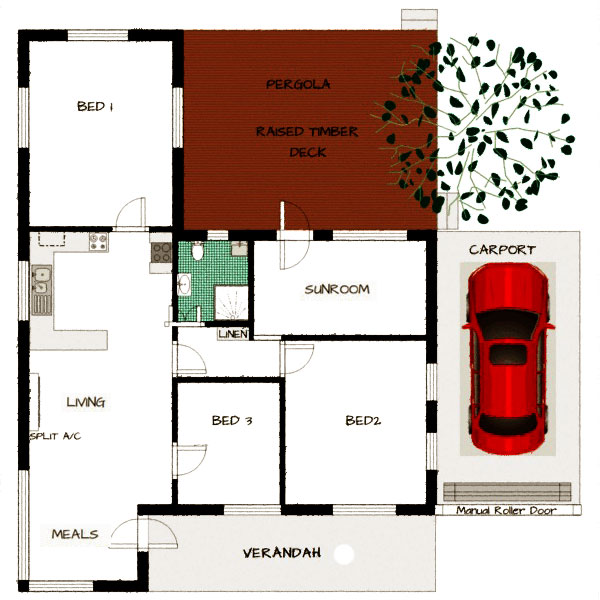 Peppertree Floorplan